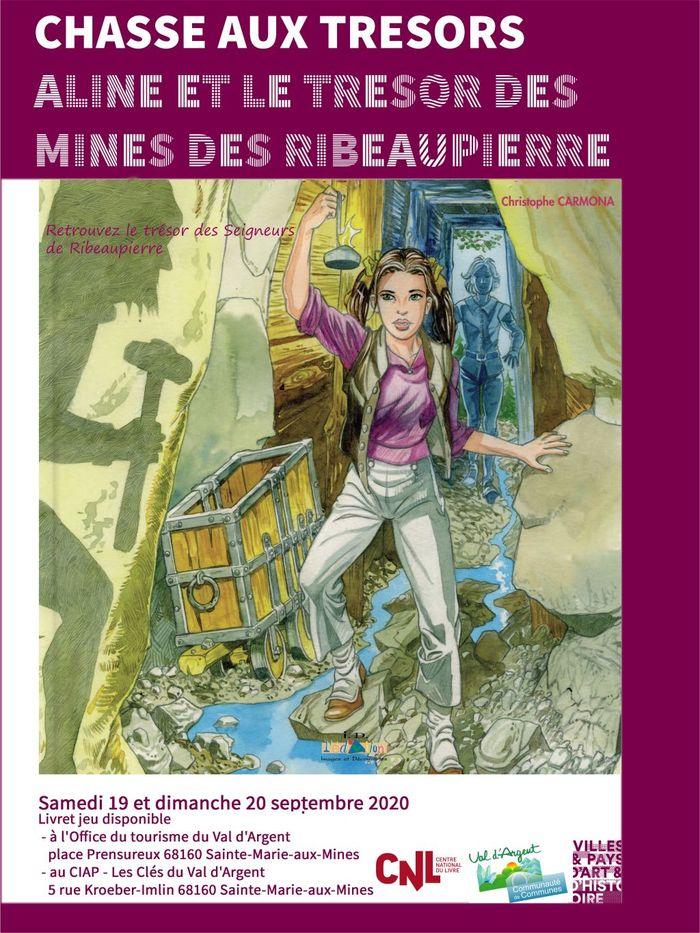 Journées du patrimoine 2020 - Chasse aux trésors : Aline et le trésor des mines des Ribeaupierre