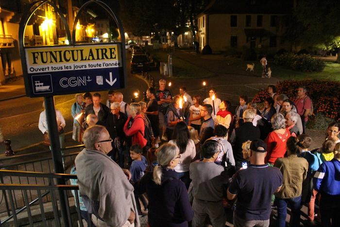 Journées du patrimoine 2019 - Descente aux flambeaux et visite du village de Rives
