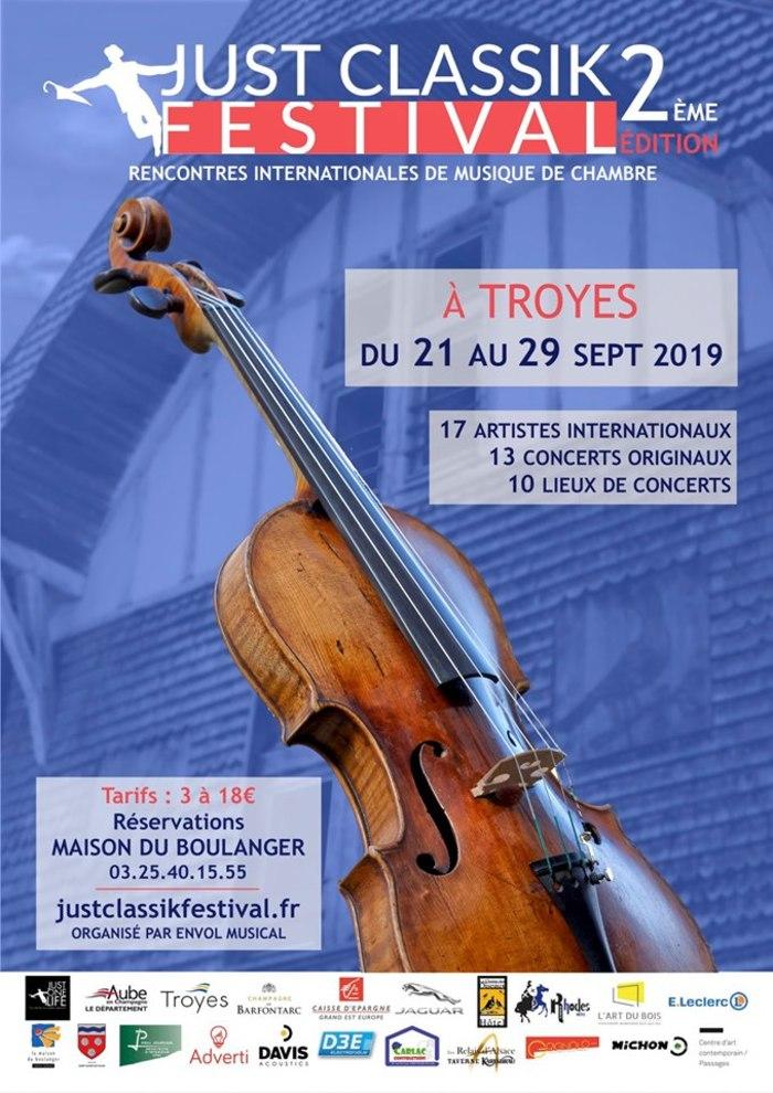 Journées du patrimoine 2019 - Just Classik Festival - Festival international de musique de chambre