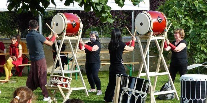 Journées du patrimoine 2020 - Concert de wadaiko / tambours japonais