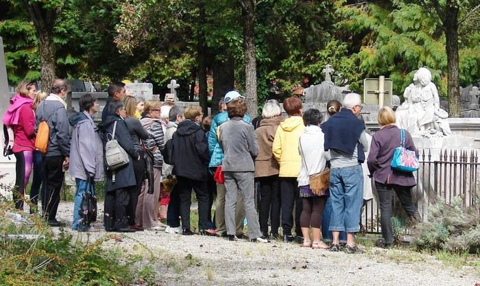 Journées du patrimoine 2019 - Visite guidée au cimetière Saint-Roch de Grenoble