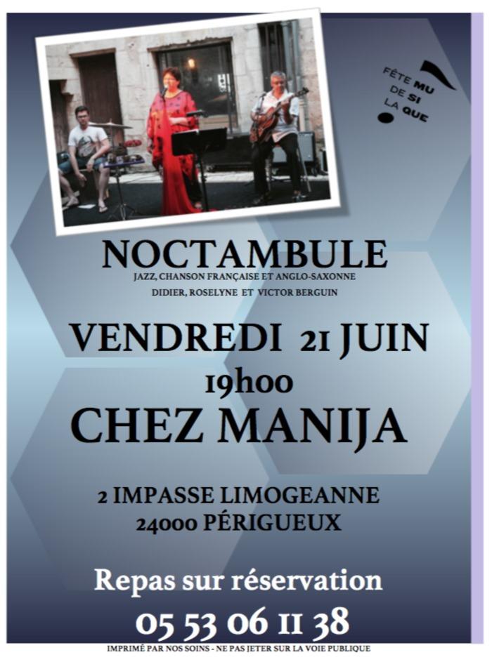 Fête de la musique 2019 - Trio Noctambule