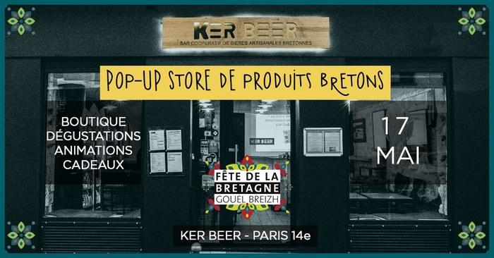 Animation & boutique éphémère de produits bretons
