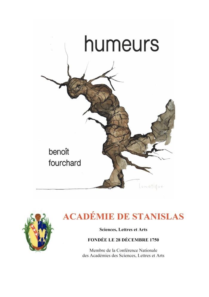 Remise du prix Georges Sadler 2020 à Humeurs, de Benoît Fourchard