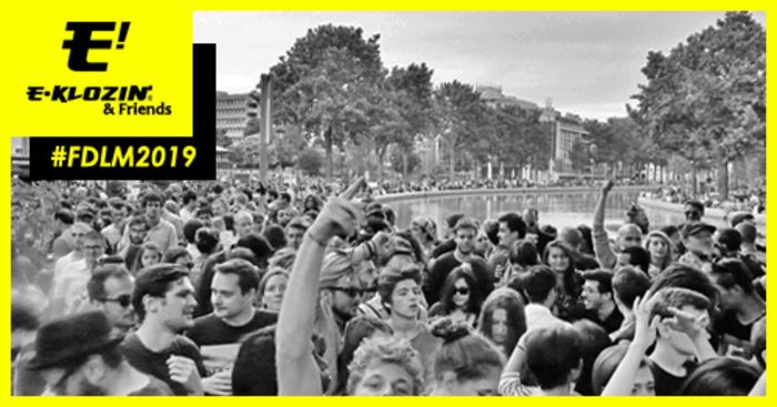 Fête de la musique 2019 - E-KLOZIN' & Friends : Alan Aaron, Alex Xela, Nico Smy, Tacky  T.no, X-PONK