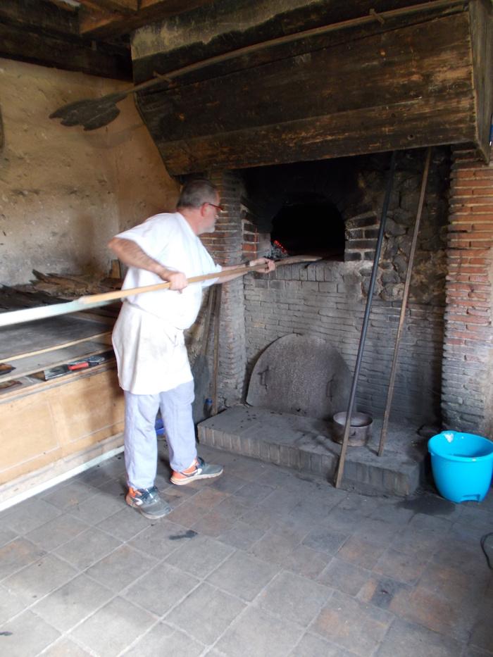 Journées du patrimoine 2019 - Cuisson du pain à l'ancienne