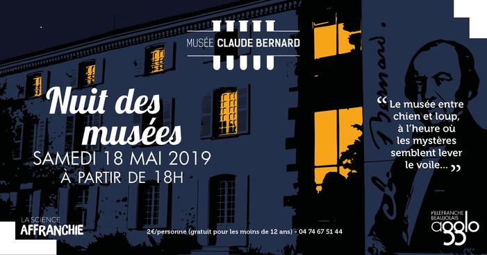 Nuit des musées 2019 -Visite libre du musée et découverte de la maison natale