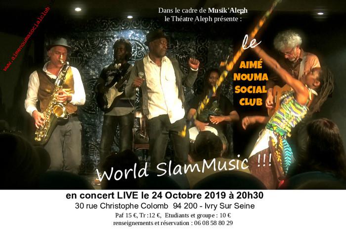 le Aimé Nouma Social Club en concert et dédicace à Musik'Aleph
