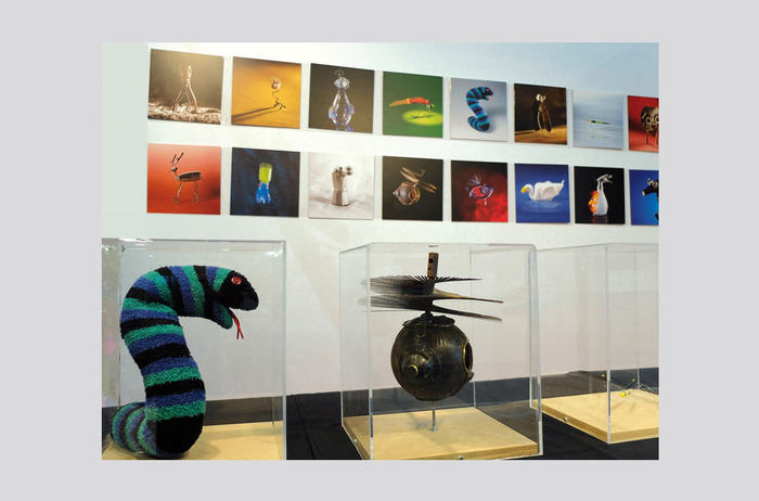 Grand bestiaire 2 : Exposition par les ateliers Art Terre