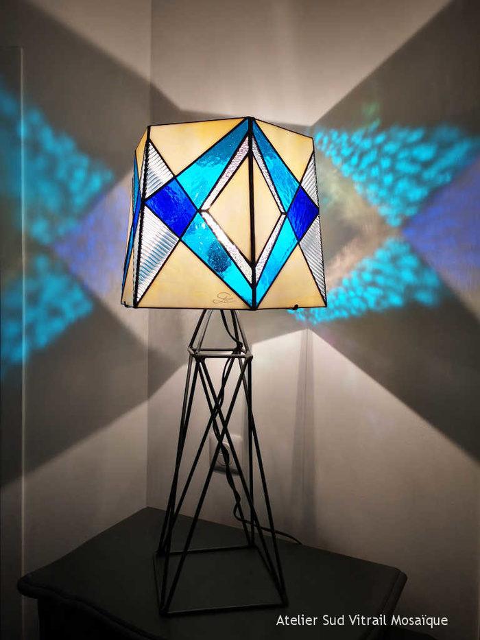 Journées du patrimoine 2019 - Démonstration et initiation à l'art du Vitrail avec Chantal Gauthier Atelier Sud Mosaïque