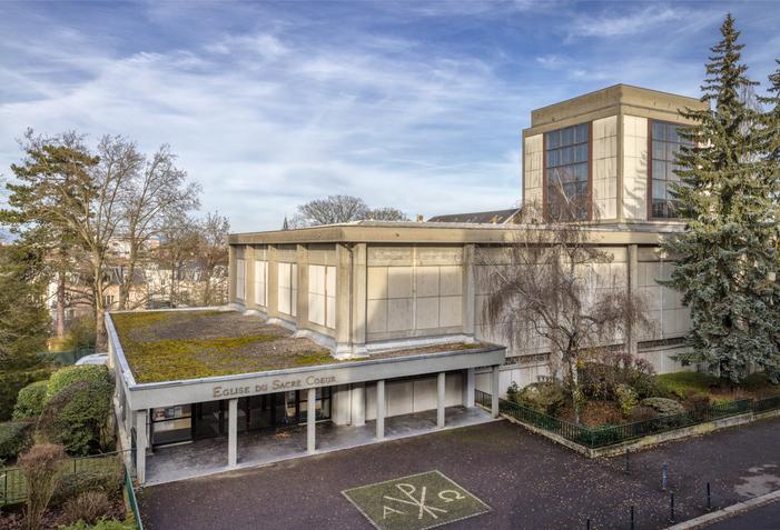 Journées du patrimoine 2019 - Découvrir un édifice cultuel contemporain conçu par André Le Donné disciple de Perret en 1960