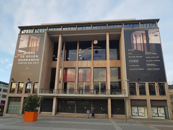 Journées du patrimoine 2019 - Visite guidée du Théâtre des Arts