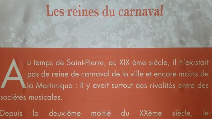 Journées du patrimoine 2019 - St-Pierre / CDST / Dans la fièvre du carnaval martiniquais / exposition