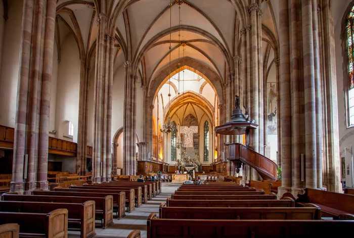 Journées du patrimoine 2020 - Visite guidée de l'église Saint-Thomas (nefs et chœur)