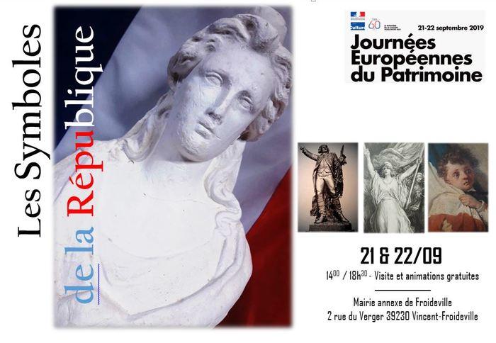 Journées du patrimoine 2019 - Exposition sur les symboles de la République et l'histoire du suffrage universel en France
