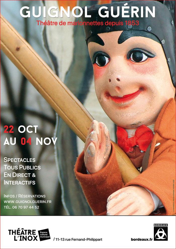 GUIGNOL GUERIN au théâtre l'Inox pour les Vacances de Toussaint
