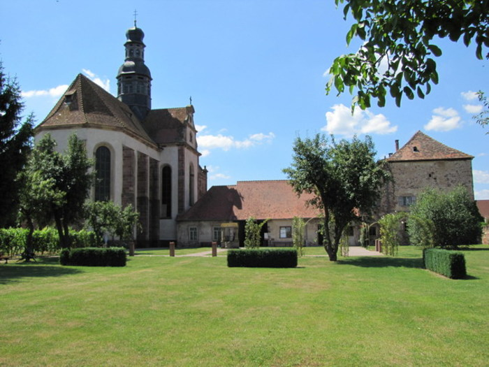 Journées du patrimoine 2019 - Visite libre de l'église abbatiale et du jardin du cloître