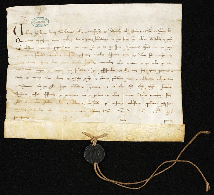 Journées du patrimoine 2020 - Atelier «Lire, écrire, signer au Moyen Age»: