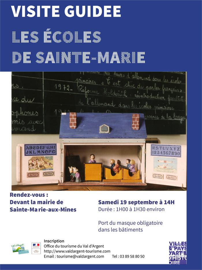 Journées du patrimoine 2020 - Découverte des écoles de Sainte-Marie-aux-Mines
