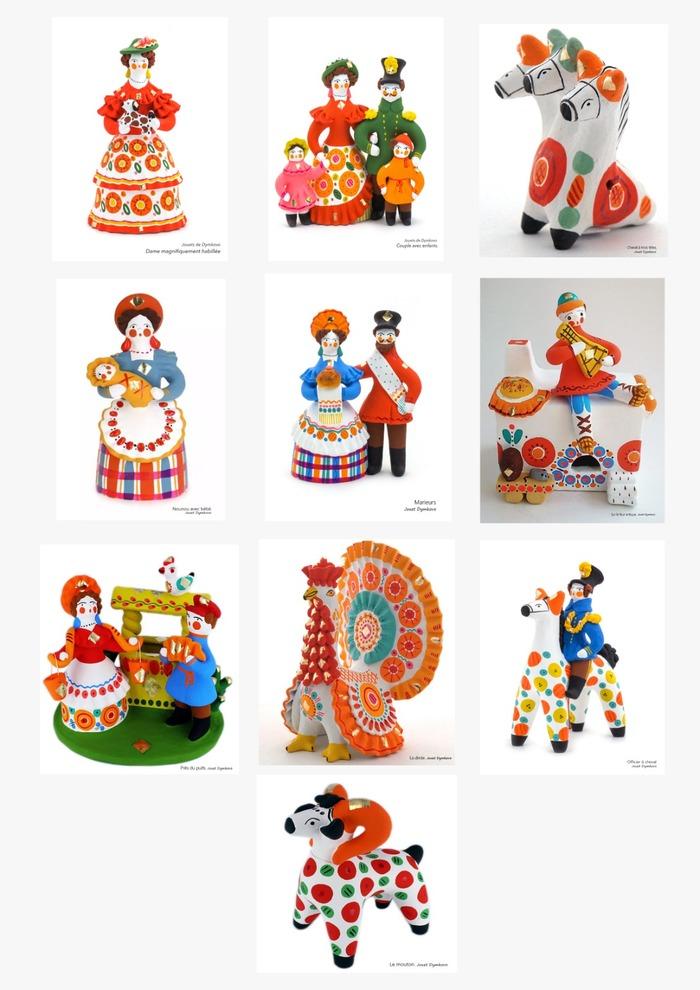 Journées du patrimoine 2020 - Atelier de création de figurine en argile - Atelier interactif de langue russe.