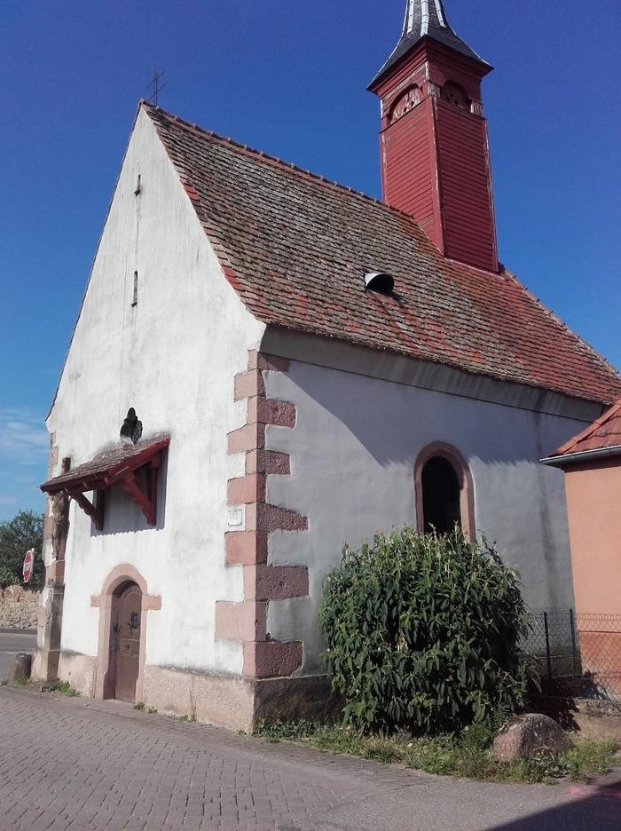 Journées du patrimoine 2020 - Visite guidée de la chapelle Saint-Wolfgang