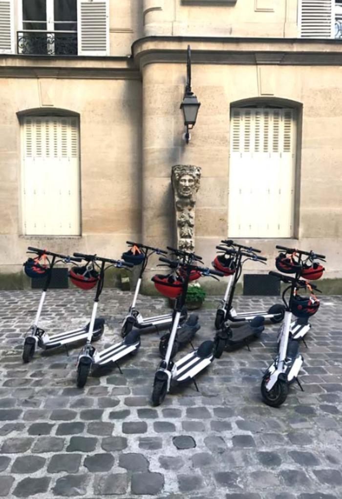 Journées du patrimoine 2019 - Les cités-jardins du Val-Notre-Dame en trottinette