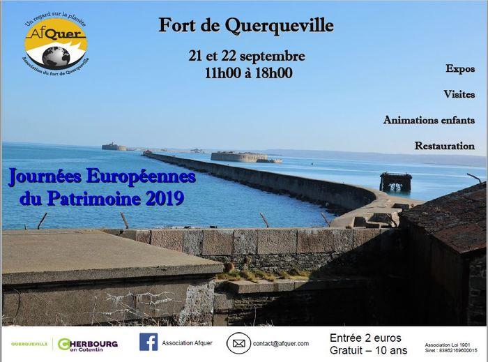 Journées du patrimoine 2019 - Visite libre du Fort de Querqueville