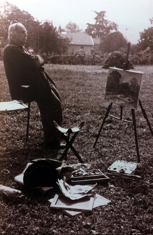 """Journées du patrimoine 2020 - Projection documentaire:""""Peinture de paysage par Lucien Mainssieux"""""""