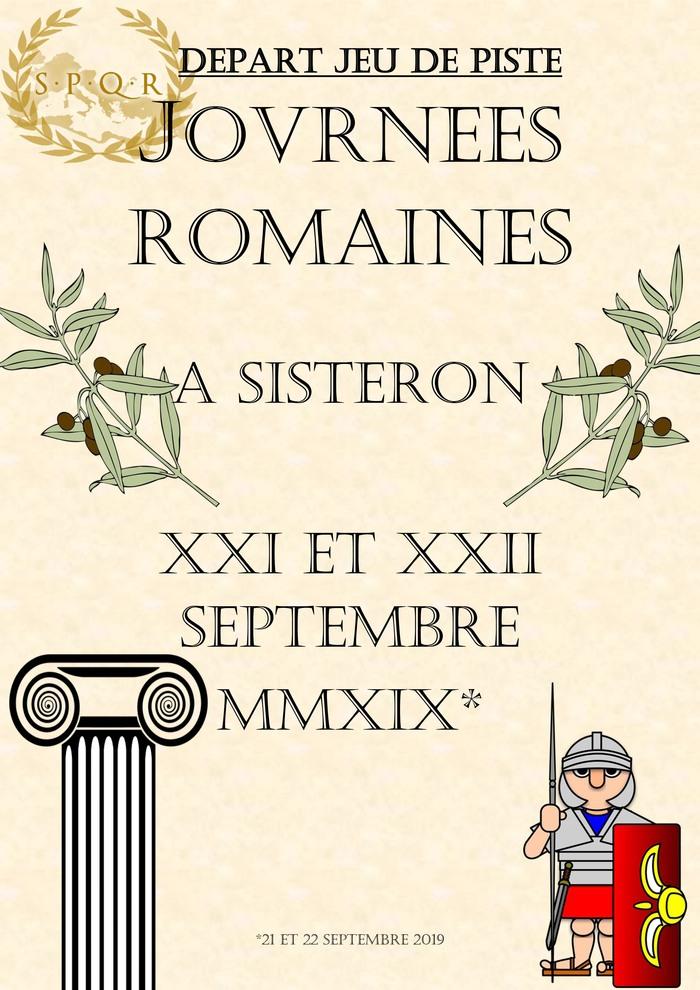 Journées du patrimoine 2019 - Jeu de piste à la découverte de Sisteron et de son passé antique