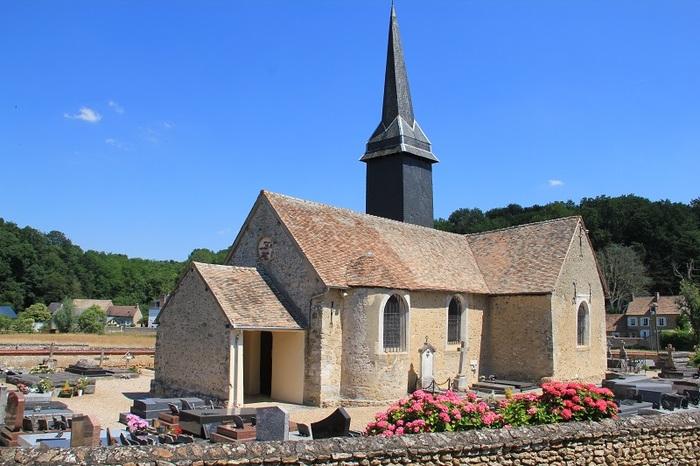 Journées du patrimoine 2019 - Visite libre de l'église St Pierre du Bas Houlbec