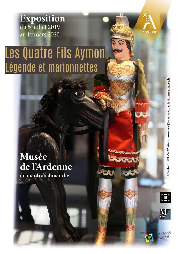 Journées du patrimoine 2019 - Visite guidée de l'exposition « Légende et marionnettes »