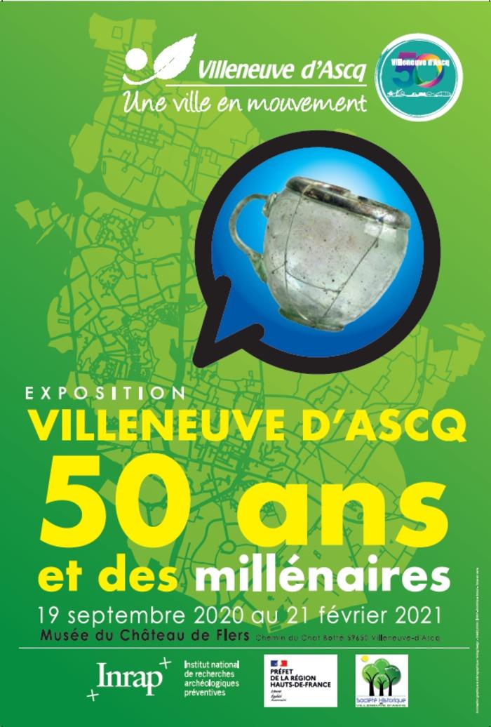 Journées du patrimoine 2020 - Exposition sur les 50 ans de la ville