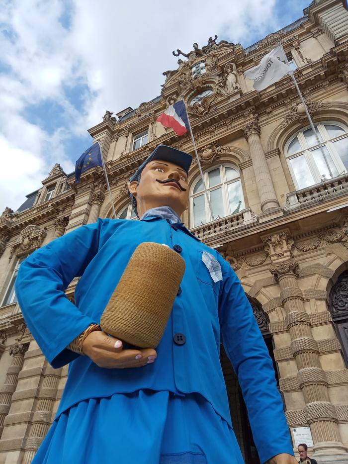 Journées du patrimoine 2020 - Annulé | Rigodon des géant.e.s - Fête des paquets bleus #2 GEANT.E.S