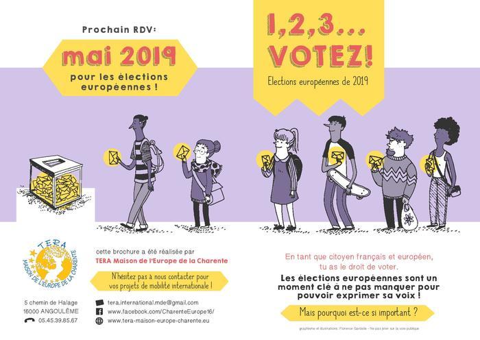 Sensibilisation à la citoyenneté européenne et aux élections européennes