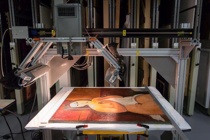 Modigliani, techniques et pratiques artistiques