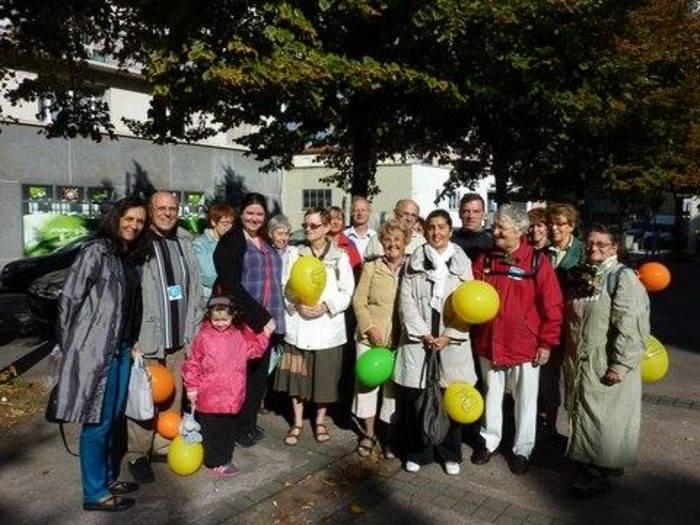 Journées du patrimoine 2019 - Visite annuelle du conseil de quartier Gratte-ciel Dedieu Charmetttes.