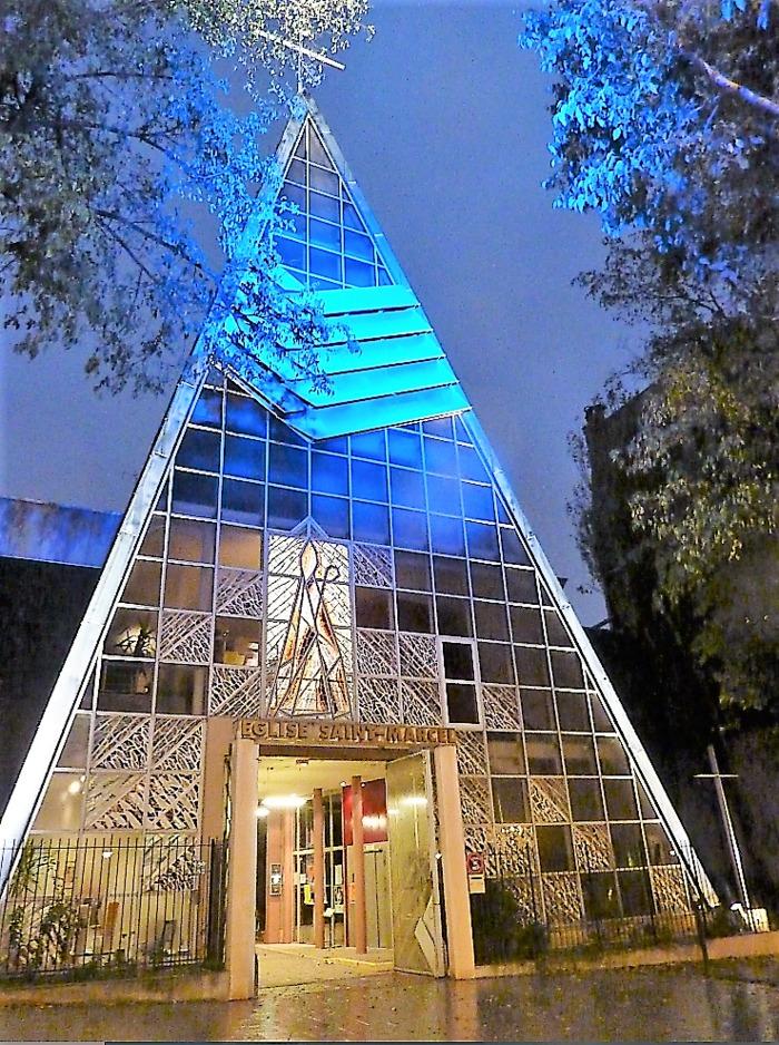 Journées du patrimoine 2020 - Visite guidée de l'église Saint Marcel par Art, Culture et Foi
