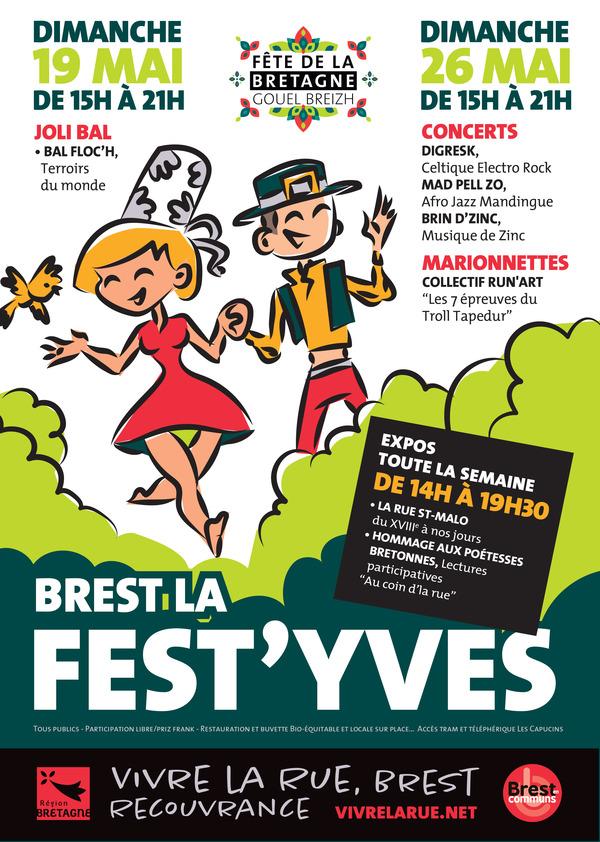 Brest la Fest'Yves : Poésie