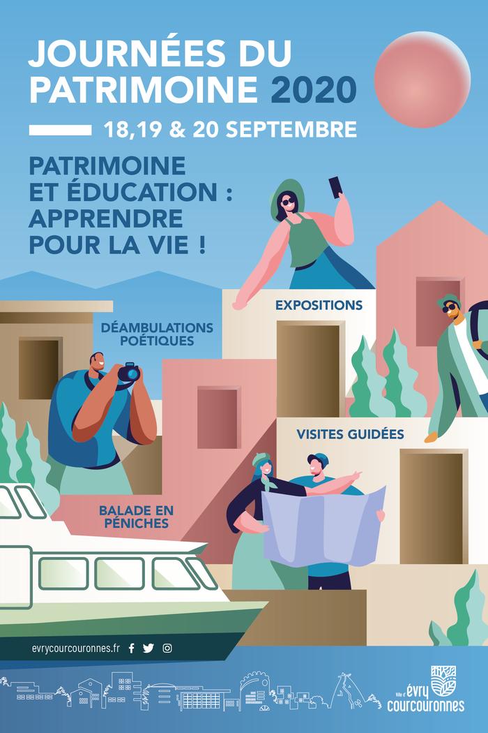 Journées du patrimoine 2020 - Déambulation poétique dans la Maison de la Ferme du Bois Briard