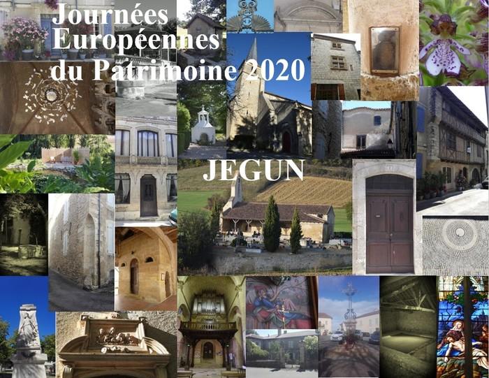 Journées du patrimoine 2020 - Visite libre ou circuit dans le village