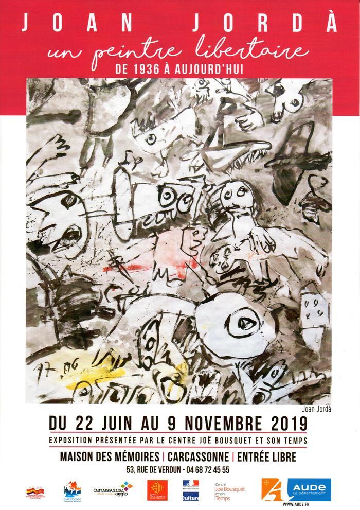 Journées du patrimoine 2019 - Joan Jordà, un peintre libertaire de 1936 à aujourd'hui