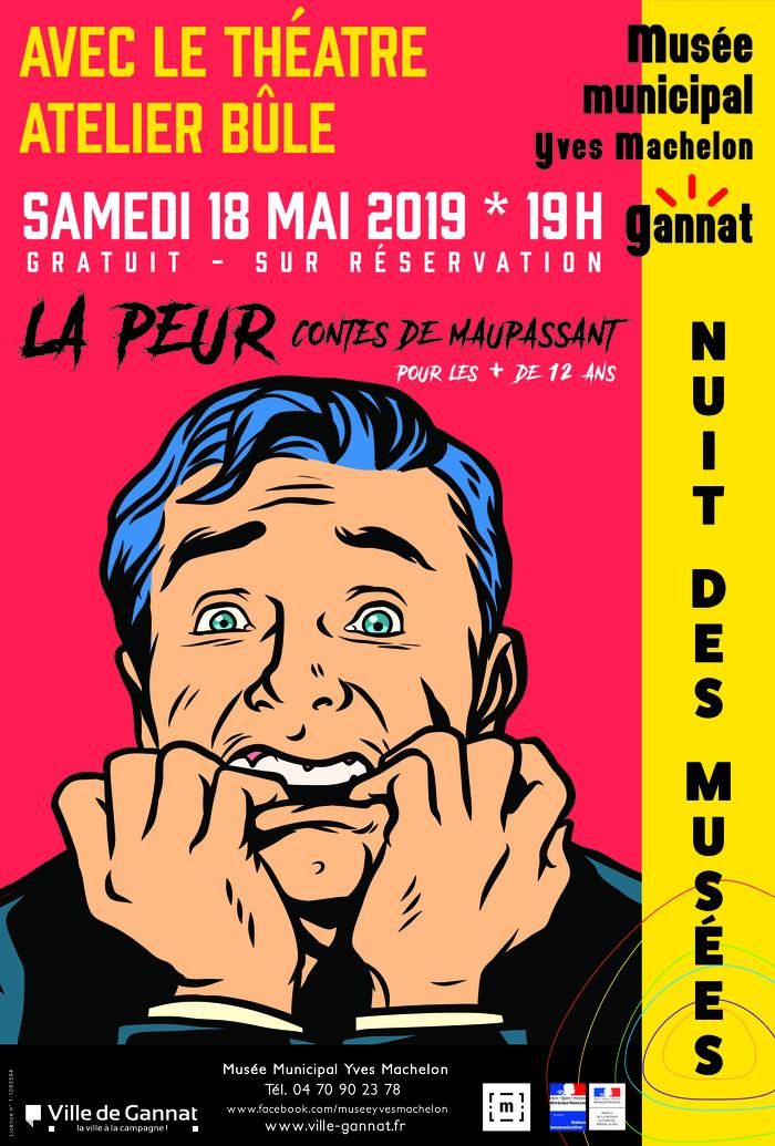 Nuit des musées 2019 -La peur, contes de Maupassant