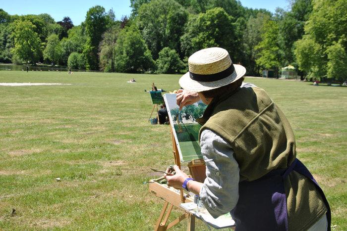 Journées du patrimoine 2019 - Après-midi peinture sur le motif