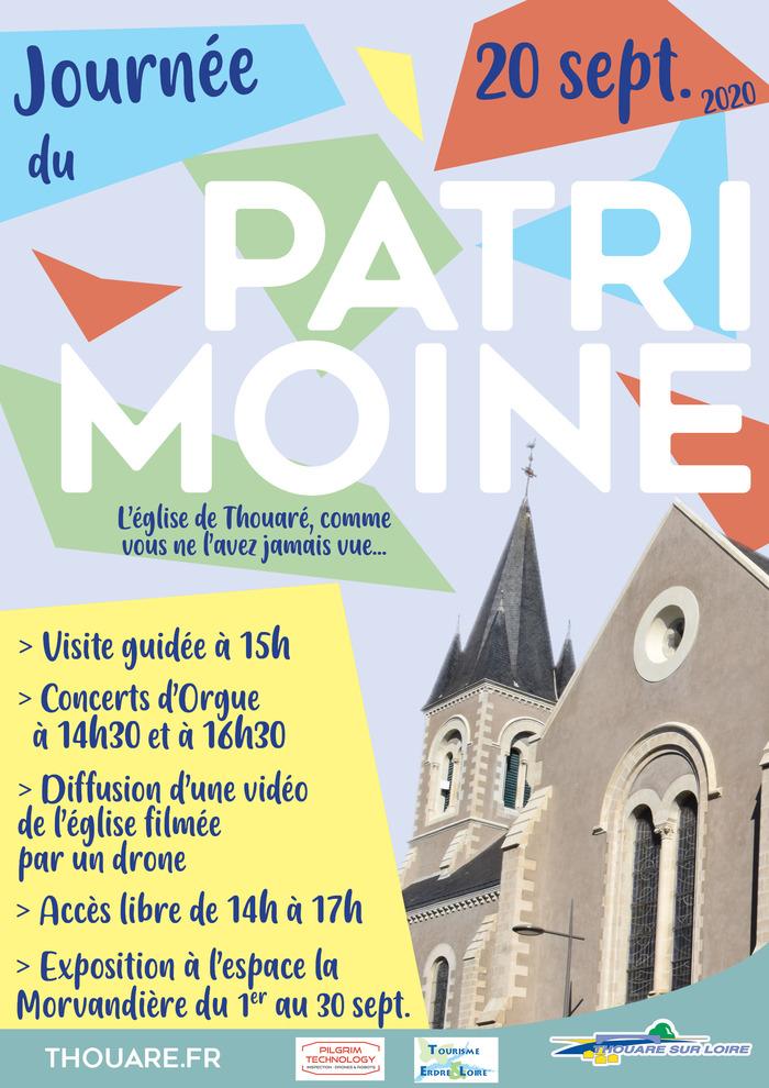 Journées du patrimoine 2020 - Jounée du patrimoine - Eglise Saint-Vincent