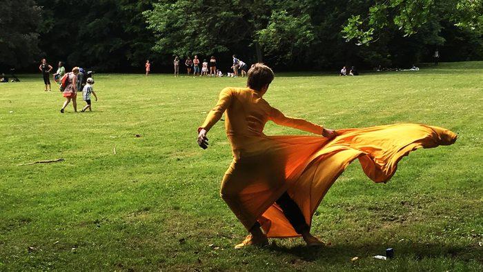 Journées du patrimoine 2020 - Visite dansée du Musée des Beaux-arts par la compagnie Fêtes Galantes