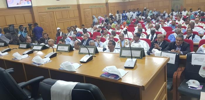 Cérémonie d'ouverture de la Semaine de la langue française et de la Francophonie à la Chambre de commerce d'Insdustrie et d'agriculture de Mauritanie