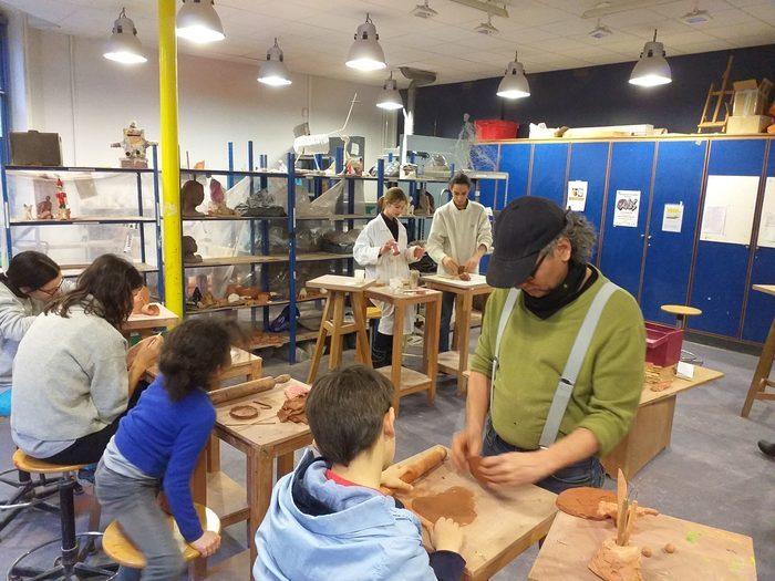 Cours de céramique et de modelage pour enfants (dès 5 ans) et ados
