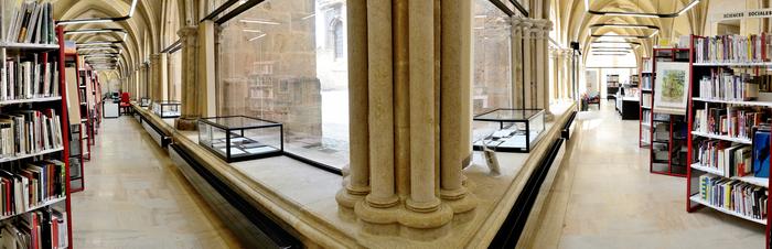 Journées du patrimoine 2019 - Visite libre : Cloître de la cathédrale Saint-Mammès (Bibliothèque Marcel-Arland)