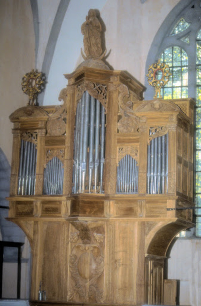 Journées du patrimoine 2020 - Visite de l'orgue historique d'Orgelet