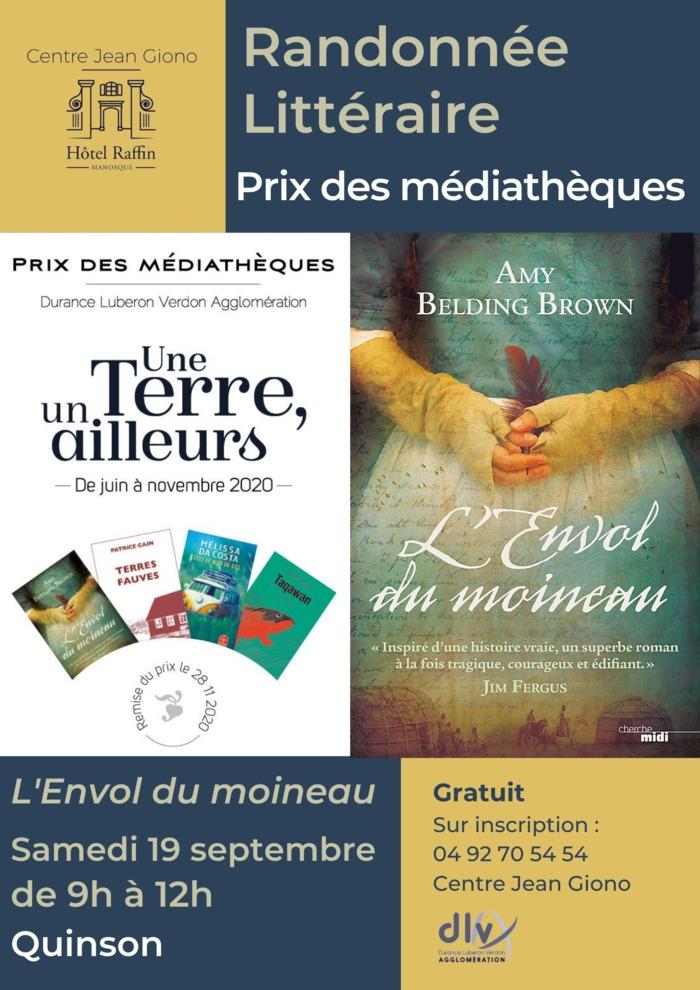 Journées du patrimoine 2020 - Randonnée littéraire